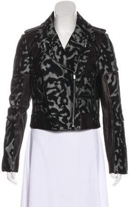 Diane von Furstenberg Theodora Moto Jacket