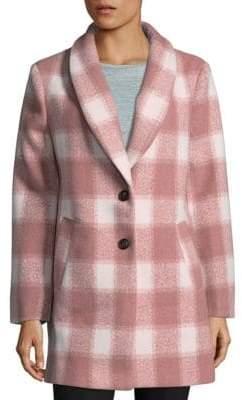 ENGLISH FACTORY Oversized Checkered Jacket
