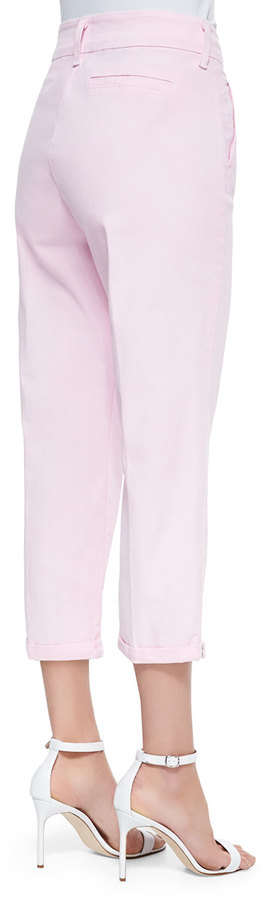 NYDJ Izzie Twill Capri Pants W/Bling Cuffs 3