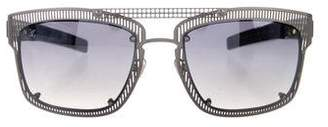 aeb6e4ba67f9 Pre-Owned at TheRealReal · Louis Vuitton Wire Frame Sunglasses