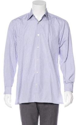 Charvet Gingham Button-Up Shirt