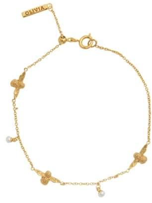 Olivia Burton Pearl & Bee Station Bracelet
