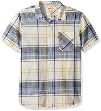 Levi's Men's Garland Short Sleeve Woven Shirt
