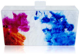 Milanblocks Abstract Oil Paint Lucite Bag by The Workshop at Macy