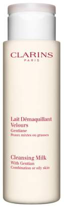 Clarins Cleansing Milk with Gentian for Combination/Oily Skin