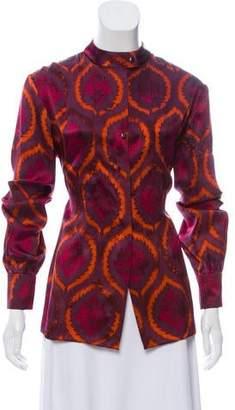 Sophie Theallet Silk Printed Top