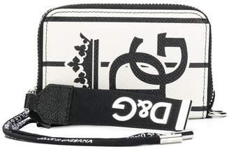 705b611c3048 Code  15off at Farfetch Dolce   Gabbana zip-around printed wallet