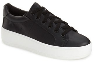Steve Madden 'Bertie' Lace-Up Sneaker (Women) $59.95 thestylecure.com