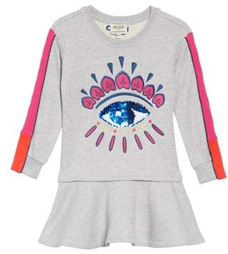 Kenzo Eye Fleece Dress