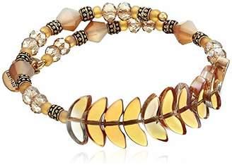 Alex and Ani Women's Deity Wrap Honey Bracelet