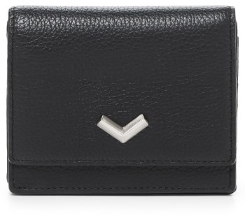 Women's Botkier Soho Mini Leather Wallet - Black