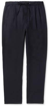Camoshita Tapered Wool-Twill Drawstring Trousers
