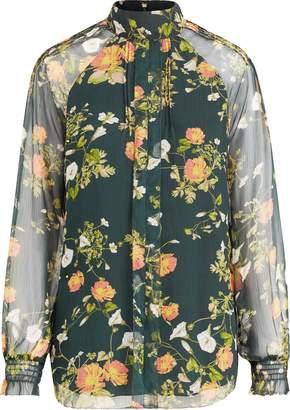Ralph Lauren Floral Georgette Blouse