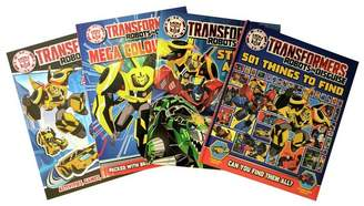 Transformers Robots in Disguise Book Bundle
