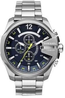 Diesel Mega Chief Stainless Steel Bracelet Watch