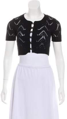 Dolce & Gabbana Patterned Knit Shrug