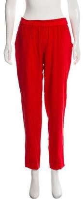 Ramy Brook Mid-Rise Silk Pants w/ Tags