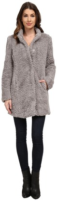 Kenneth Cole New York Faux Fur Teddy Coat $195 thestylecure.com
