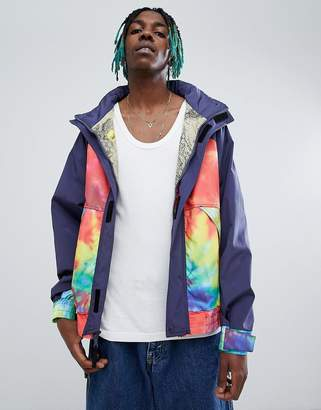 Billionaire Boys Club Sailing Jacket With Ideal Tie Dye Print