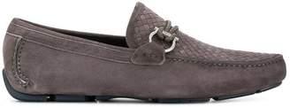 Salvatore Ferragamo woven Gancio loafers