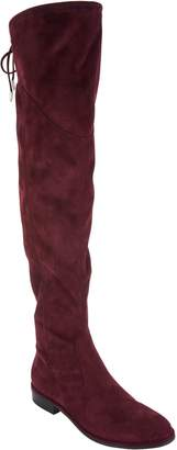 Marc Fisher Faux Suede or Velvet Over-the-Knee Boots - Hulie