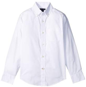 Tommy Hilfiger Pinpoint Oxford Shirt Boy's Clothing