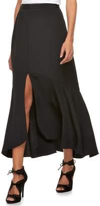 JLO by Jennifer Lopez Women's Front Slit Yoryu Maxi Skirt