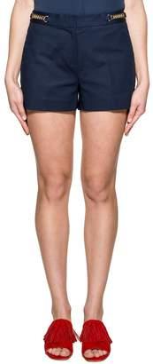 Michael Kors (マイケル コース) - Navy Blue Gabardine Shorts