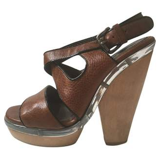 Marni Leather heels