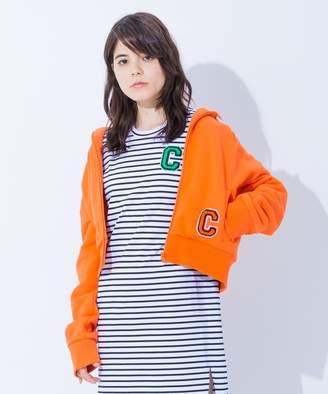 Calvin Klein (カルバン クライン) - Calvin Klein women 【2018SS COLLECTION】クラシックコットンフレンチテリー パーカー(C)FDB