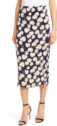Diane von Furstenberg Tailored Midi Pencil Skirt