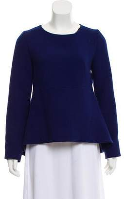 Marni Wool Peplum Top