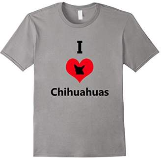 Breed I Love Chihuahuas Dog Tshirt