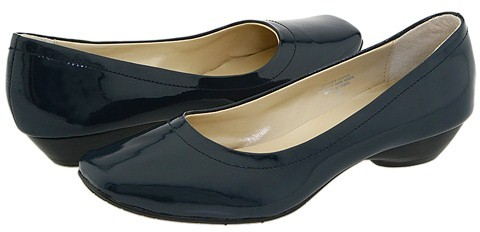 Fitzwell - Giselle (Navy Patent Leather)