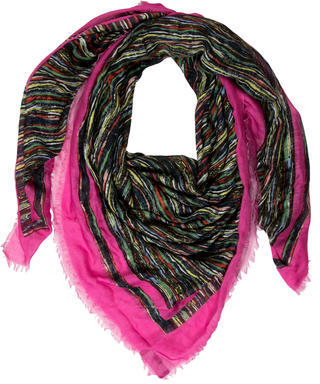 Thakoon Multicolored Printed Scarf