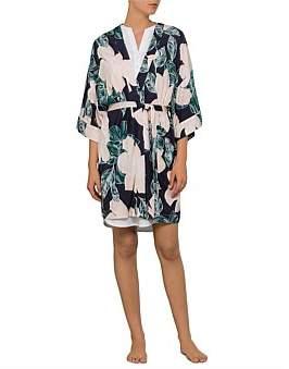 David Jones Floral Kimono Robe