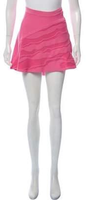 Ohne Titel Intarsia A-Line Skirt