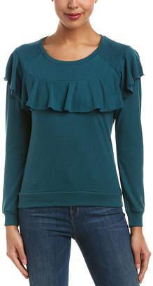 Nation Ltd. Valentia Ruffle Sweatshirt