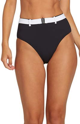 5d732a2ee9 Volcom Simply Rib Retro High Waist Bikini Bottoms