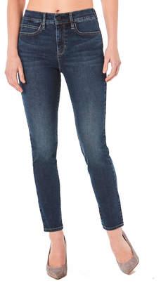 Nicole Miller New York Soho High-Rise Skinny Jeans, Blue