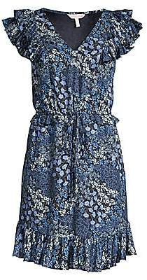 Rebecca Taylor Women's Ava Ruffled Silk Dress