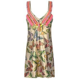 Pate De Sable Pate De SableGold Butterfly Beach Dress