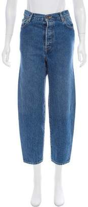 Vetements x Levi's 2017 High-Rise Straight-Leg Jeans w/ Tags
