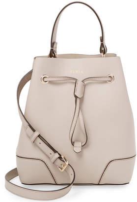 Furla Stacy Small Drawstring Bucket Bag
