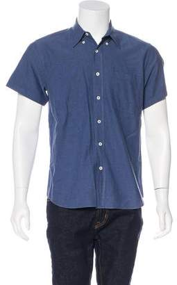 Billy Reid Standard Cut Button-Up Shirt