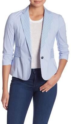 Vince Camuto Contrast Stripe Blazer