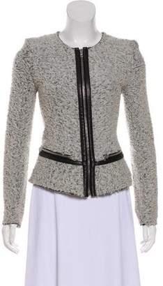 IRO Leather-Trimmed Zyta Jacket
