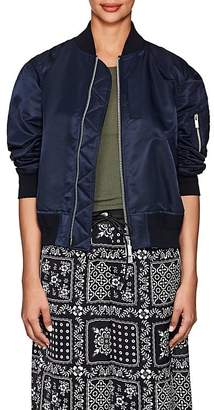 Sacai Women's Pleat-Back Bomber Jacket
