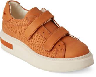 Manuel Barceló Atlas Perforated Leather Platform Sneakers