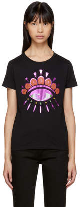 Kenzo Black Limited Edition Holiday Eye T-Shirt